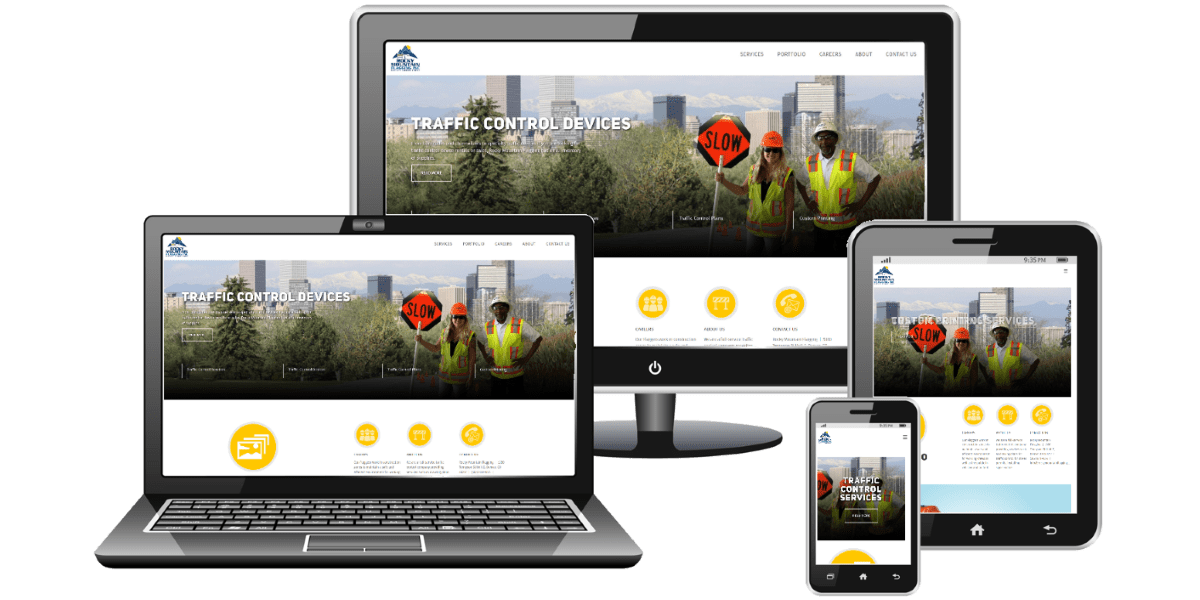 Picture of the new Schultz Roofing & Repairs Website